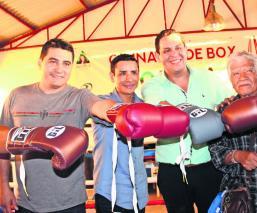 Adaptan establo para inaugurar escuela de boxeo y recomponer el tejido social, en Morelos
