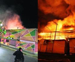 Autoridades investigan si incendios en mercados de la CDMX fueron provocados