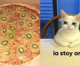 """""""Absoluta desgracia"""": Surge la pizza de kiwi y abre el debate en redes sociales"""