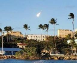 """Difunden estremecedoras imágenes de un """"enorme"""" meteoro que cayó en la Tierra"""