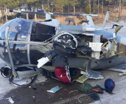 helicóptero chihuahua se desploma sedena