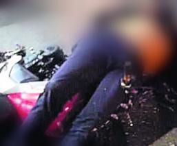 motociclista prensado cuernavaca