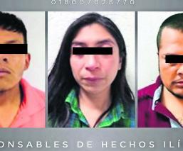 Dictan sentencia a tres secuestradores con 80 años de prisión, en Edomex