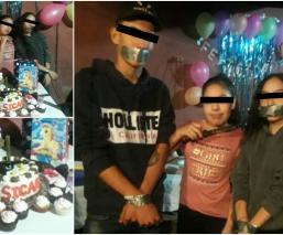 fiesta temática niña sicaria narco