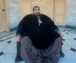 'Hulk' pakistaní busca novia de su peso y tamaño, ha rechazado a 300 mujeres