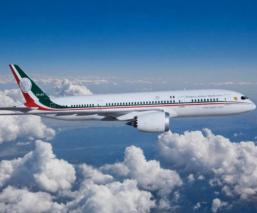 avión presidencial empresa criptomoneda