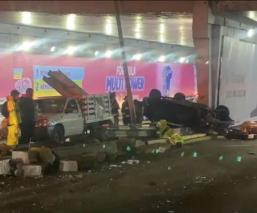 Conductor atropella brutalmente a obrero y también muere prensado en Circuito Interior