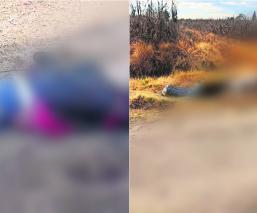 Localizan tres cadáveres maniatados y con impactos de bala en distintos puntos del Edomex