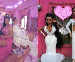 Karol G y Nicki Minaj llegan a México con todo y su 'Tusa' ¡en forma de piñata!