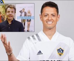 Eugenio Derbez manda mensajito al 'Chicharito' Hernández tras su fichaje en el Galaxy