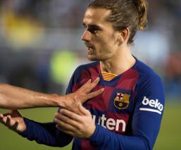 Con goles de Griezmann, el Barcelona derrotó al UD Ibiza