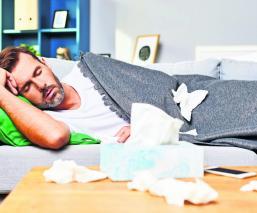 influenza cuidados sintomas