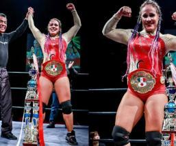 Dallys se convierte en la primera campeona femenil de Japón, avalada por el CMLL