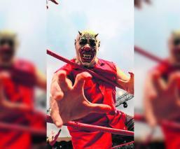 Murder Clown quiere apostar su máscara, pero asegura que no hay luchador que le llegue