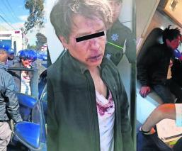 Habitantes del Edomex por poco linchan a hombre, acusado de ser secuestrador de menores