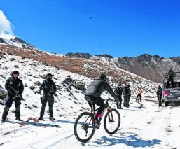 Autoridades mexiquenses restringen el acceso al cráter del Nevado de Toluca por lluvias