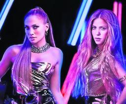 Jennifer López y Shakira se dicen listas para el Super Bowl y lo presumen en redes