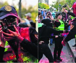 marcha feminista agreden policías cdmx