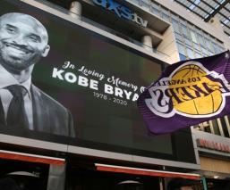 Staples Center en memoria de Kobe Bryant
