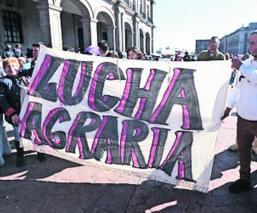 Ejidatarios de Ecatepec toman las calles y exigen la devolución de tierras expropiadas