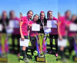 Leonas Morelos se coronan campeonas de la Liga de Futbol Femenil de Jiutepec