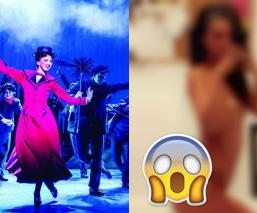 ¡Escándalo! Filtran fotos íntimas de actriz de 'Mary Poppins' y 'Cats'