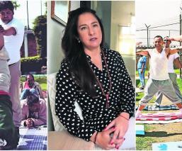 Atala ayuda a reos del Penal de Santiaguito con clases de yoga, pintura y fotografía