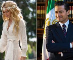 """""""Mi mano no te soltará"""": Tania Ruiz dedica romántico mensaje a Enrique Peña Nieto"""