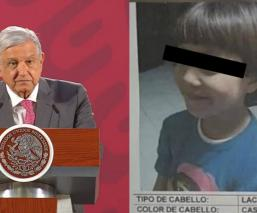 AMLO culpa al neoliberalismo por el feminicidio de niña de siete años Fátima, en Tláhuac