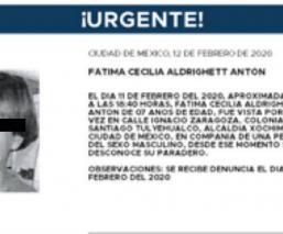 #JusticiaParaFátima Asesinan y embolsan a niña de siete años en Tláhuac