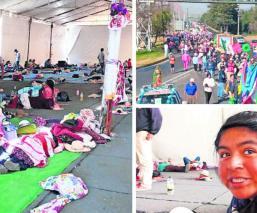 Más de 25 mil devotos de la Virgen partieron hoy desde Toluca rumbo a la Villa, en la CDMX