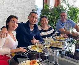 Cristiano en familia