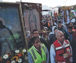 Miles de creyentes inician la 82ª Peregrinación Diocesana de Toluca hacia el Tepeyac