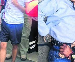 Hombre hieren a balazos a dos jóvenes que esperaban su turno en una estética de la CDMX