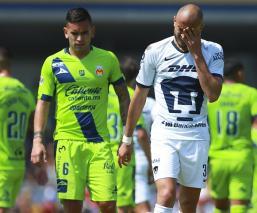 Pumas pierde el invicto ante Morelia en el estadio Universitario