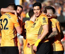 Raúl Jiménez anota en el triunfo de los Wolves ante el Norwich