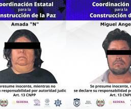 Autoridades detienen a presunta familia de extorsionadores en Zacatepec, Morelos