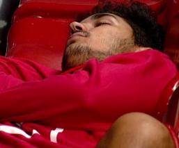 Exjugador del América se queda dormido en pleno partido