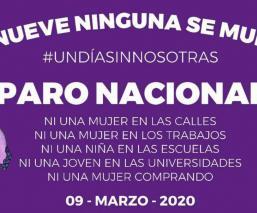 """""""Las brujas del mar"""" orquestan convocatoria del próximo Día sin Mujeres en todo el país"""