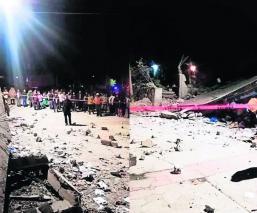 Explosiones de pirotecnia en distintos festejos del Edomex deja un muerto y dos heridos