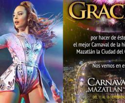 """Nombran """"persona non grata"""" a Danna Paola por no presentarse en el Carnaval de Mazatlán"""