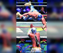 Luchadores aceptan que la barda de protección en la Arena México, es arma de dos filos
