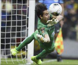 Oscar Jiménez en partido de Concachampions