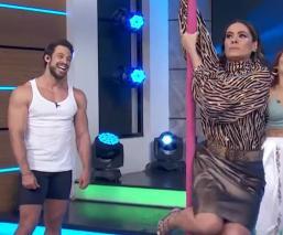 Atacan en redes a Galilea Montijo por baile de Pole Dance
