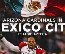 Los Cardenales de Arizona jugarán en el estadio Azteca