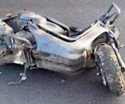 Motociclista intenta esquivar cuerpo de can y fallece en la autopista México-Puebla