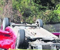 Mujer pierde la vida durante un accidente automovilístico sobre la México-Cuernavaca