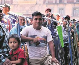 Por contingencia del Covid-19, 'diableros' de la CDMX piden al Gobierno que los apoye
