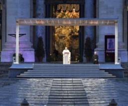 Esta es la misa completa que el Papa Francisco ofreció al mundo, por coronavirus