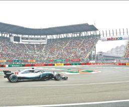 El Foro Sol en la Ciudad de México en la F1